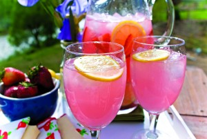 Thirst Quenching Lemonade in the Summer