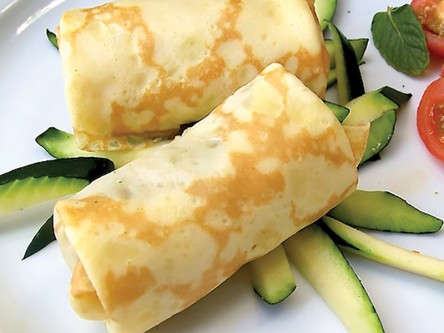 Thrive Dining Beef Stoganoff Crepes