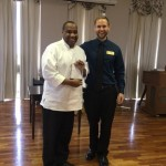 Chef Darnell Davis received Rookie of the Year award