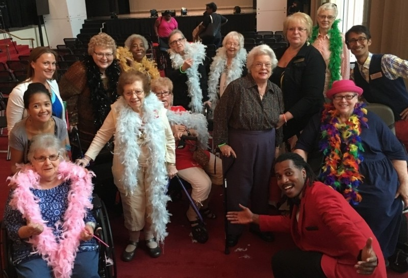 Washington house divas meet the kennedy center divas the fountains sade and lady gaga it was an hour full of fun surprises and great music and the residents could not stop raving about the show and sharing the m4hsunfo