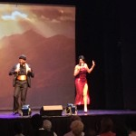 Marvin Gaye and Tammi Terrell impersonators
