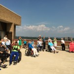 Many more residents participated witnessing the historic solar eclipse.