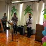 The Oasis band performing Calypso, reggae and Island music