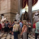 Meeting the tour guide and giving the entire group an introduction of the museum and what to see.