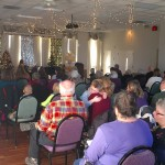 A well attended students' piano recital during the holidays.