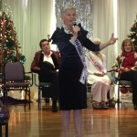 Another singing performance by the former Ms. Virginia Senior America winner.