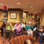 Residents in the Springs enjoying cocktail hour.