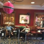 Residents were mesmerized by the beautiful French music by Nancy Scimone and Peter Digiovanni.