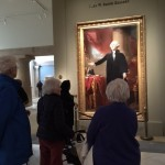 Our docent continues her guided tour of the National Portrait Gallery with more historic portraits.
