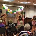 Another traditional Luau dance with decorative costumes.