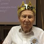 Honoring our 100 year old celebrant, Mr. Fred Grimani.