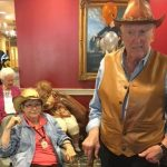 Residents got dressed up for the event which was a big hit