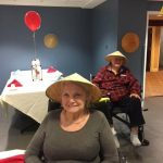 The Springs residents enjoying the social event