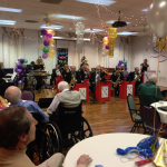 14 piece Nitehawks Swing Band performing during the New Year's Eve Gala Event