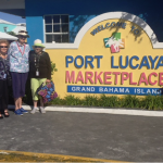 Residents out shopping at Port Lucaya in Grand Bahama
