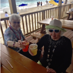Grand Bahamas Beach day cruise excursion for Pat Dowd and Barbara Gallagher